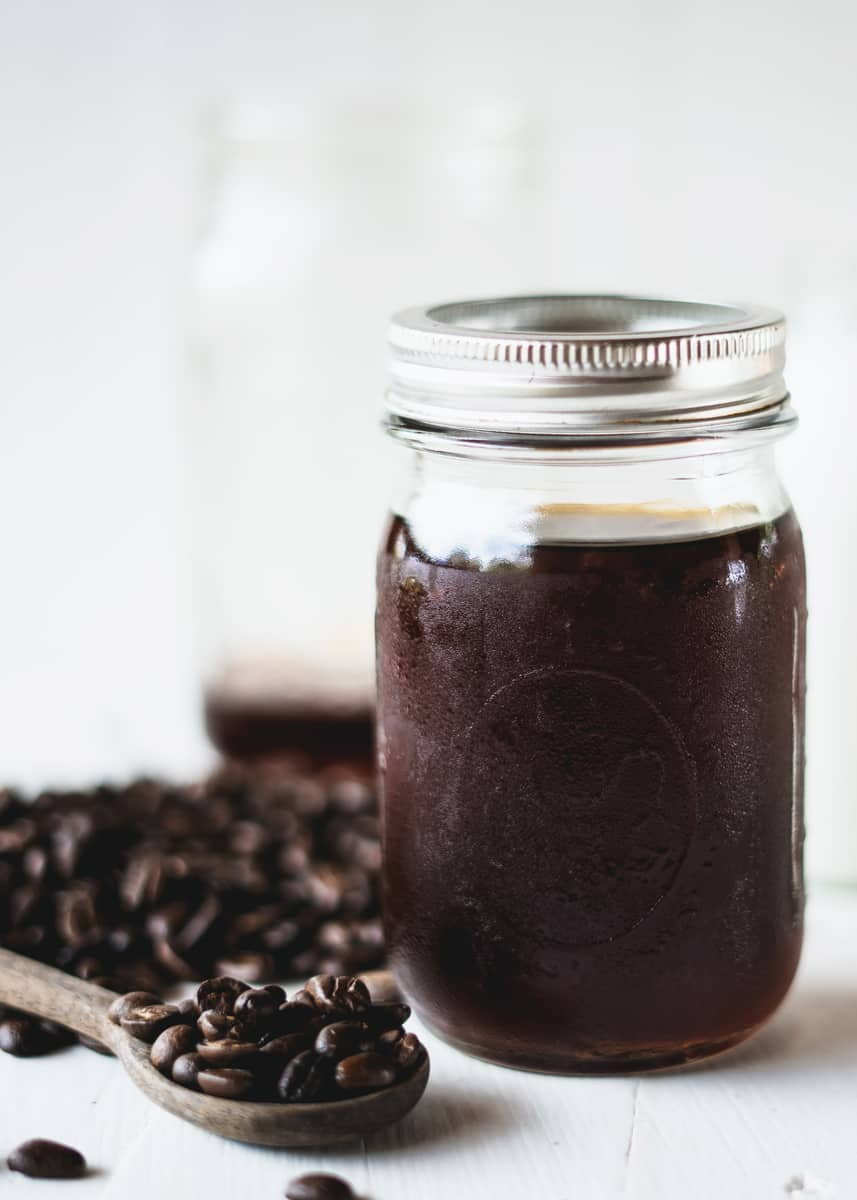 how to make cold brew coffee mason jar
